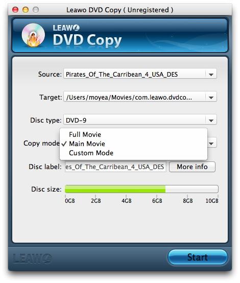 """Leawo DVD Copy - DVD 光盘拷贝工具[OS X]丨""""反""""斗限免"""