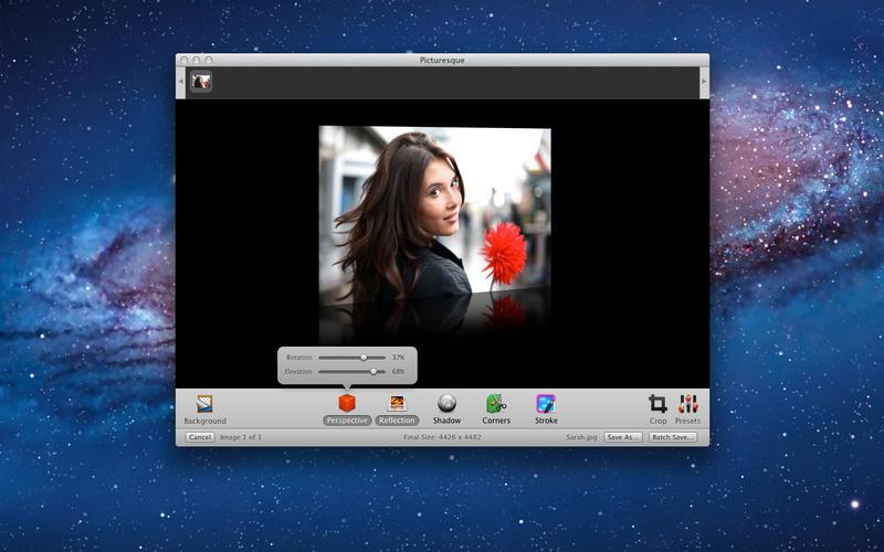 """Picturesque - 图片美化软件[OS X]丨""""反""""斗限免"""