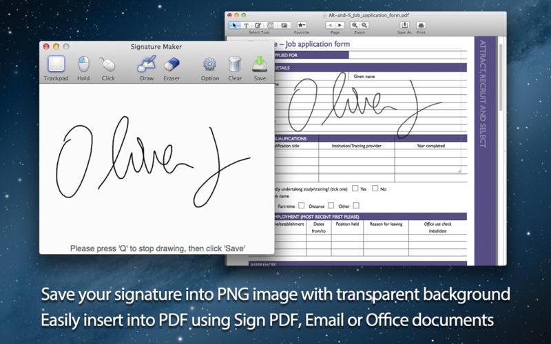 "Signature Maker - 制作数码签名[OS X]丨""反""斗限免"